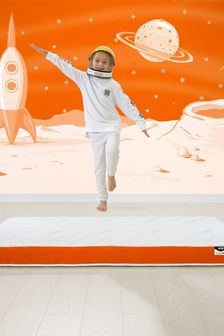 Orange JayBe Simply Kids Foam Free Sprung Mattress