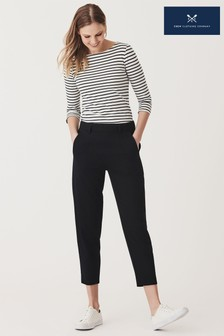Crew Clothing Company Blue Soft Pull On Trousers