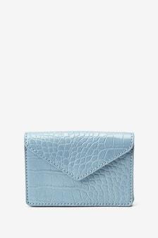 Blue Midi Cardholder Purse