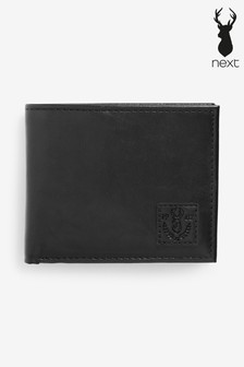 Black Wallet With Removable Card Holder