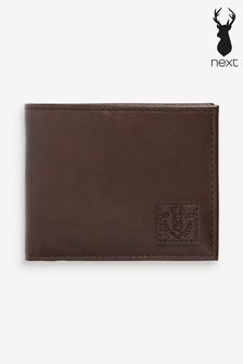 Brown Wallet With Removable Card Holder