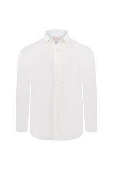 Bimbalo Boys Ivory Cotton Shirt