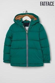 FatFace Green Ellis Bomber Jacket