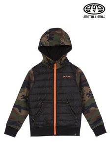 Animal Camo Reco Full Zip Fleece