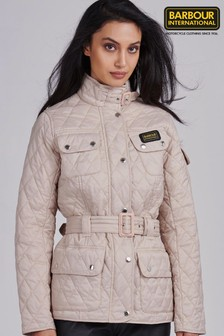 Barbour® International Pale Pink Quilted Jacket