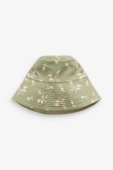 Neutral Reversible Bucket Hat