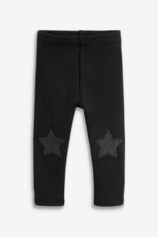 Black Cosy Leggings (3mths-7yrs)