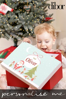 Personalised Christmas Gift Box by Dibor