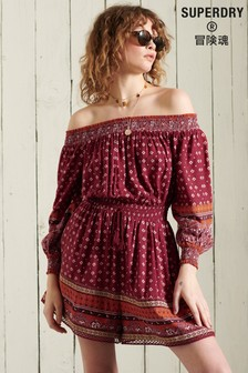 Superdry Ameera Off Shoulder Playsuit