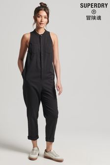 Superdry TENCEL™ Sleeveless Jumpsuit