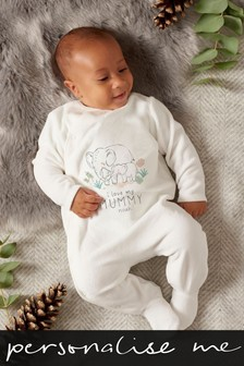 Personalised 'Mummy' Sleepsuit