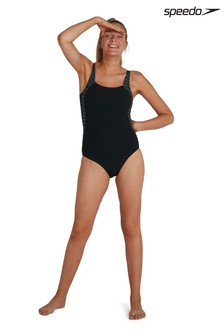 Speedo® Luna Lustre Printed Swimsuit