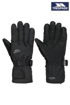 Trespass Black Ergon II - Adult Gloves