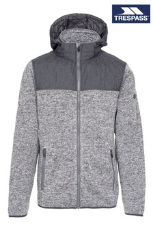 Trespass Grey Fairleystead Male Fleece