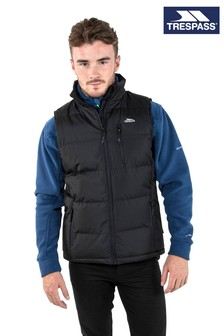 Trespass Black Clasp Male Padded Gilet