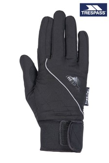 Trespass Black Whiprey Female Gloves