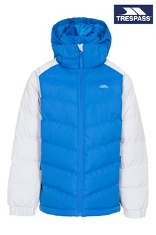 Trespass Blue Sidespin Male Padded Jacket
