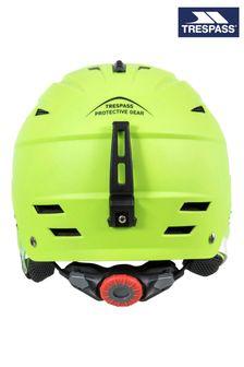 Trespass Green Furillo Adults Snow Helmet