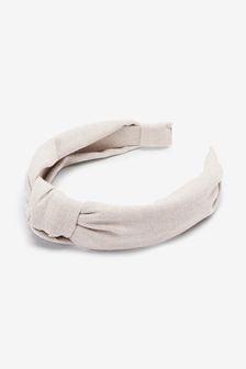 Ecru Knot Headband