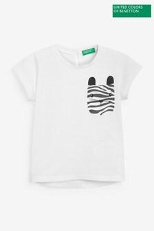Benetton Character Pocket T-Shirt