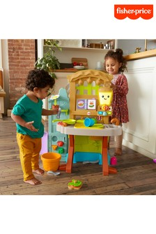 Fisher-Price Laugh Learn Grow The Fun Garden To Kitchen