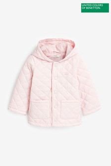 Benetton Pink Padded Coat