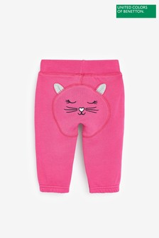 Benetton Pink Character Joggers