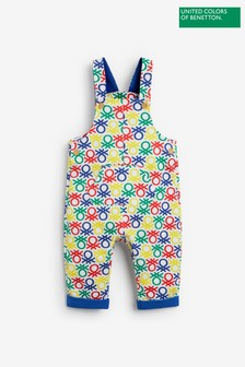 Benetton Bright Dungarees