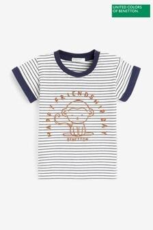 Benetton Striped Friends T-Shirt