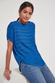 Cobalt Stripe T-Shirt