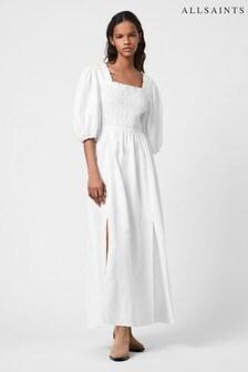 AllSaints Livi Puff Sleeve Dress
