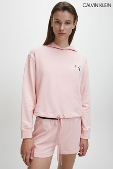 Calvin Klein Pink CK One Loungewear Hoody