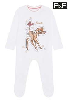 F&F White Bambi All In One