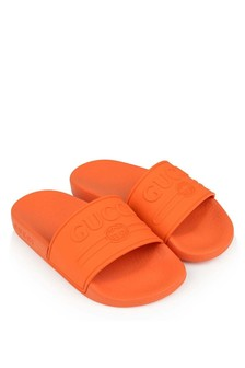 Orange Logo Sliders
