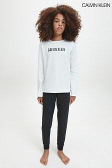 Calvin Klein White Intense Power Pyjama Set