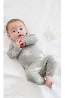 Monochrome Knitted Star Set (0mths-2yrs)