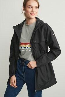 Black All-Weather Waterproof Jacket