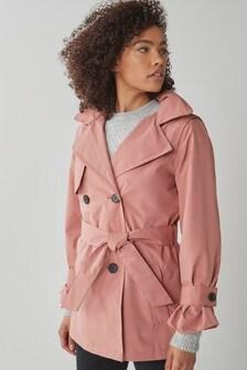 Blush Waterproof Trench Coat