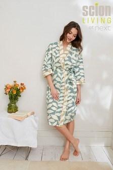 Blue Odesa Scion At Next Cotton Robe