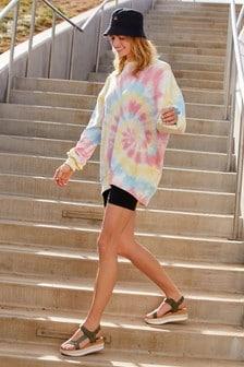 Bright Tie Dye Cotton Tunic