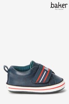 Baker by Ted Baker Navy Trainers