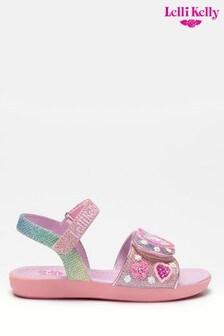 Lelli Kelly Pink Unicorn Gem Sandals