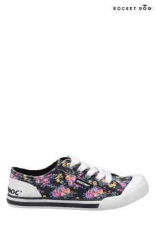 Rocket Dog Black Jazzin Prairie Place Canvas Trainers