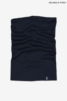 Polarn O. Pyret Blue Soft RWS Merino Neck Warmer