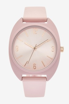 Nude Silicon Sporty Watch