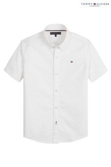 Tommy Hilfiger Solid Stretch Poplin Shirt