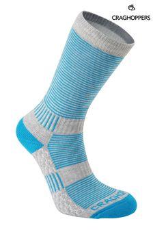 Craghoppers Blue Heat Regulate Travel Socks