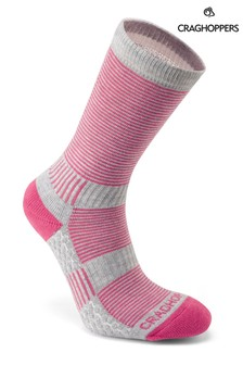 Craghoppers Pink Heat Regulate Travel Socks