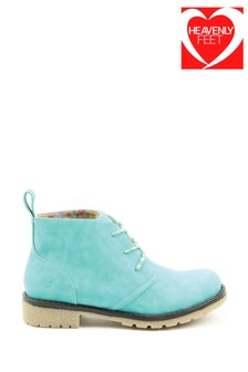 Heavenly Feet Ladies Tilley2 Casual Lace Ankle Boots