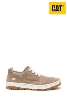 CAT Lifestyle Cream Grayledge Lace Shoes
